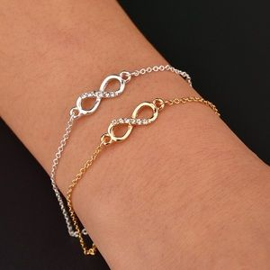 Jewelry - 🌟NEW🔥Wholesale Price. Infinity Charm Bracelets